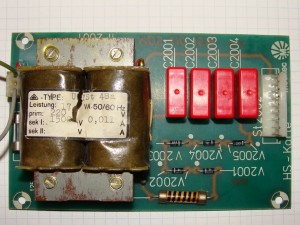 Meditec Argon Ion Laser Starting Board