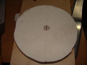 insboard ceramic fiber board endcap